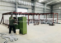 PVC / Galvanized Gabion Box Machine , Hexagonal Mesh Machine SGS TUV Approved