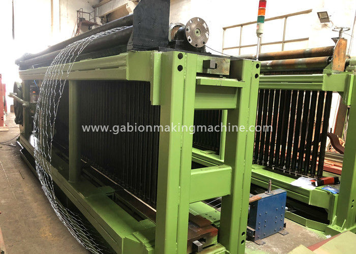 Road Automatic Gabion Machine 4300mm Max Mesh Weaving Width LNWL33-100-2