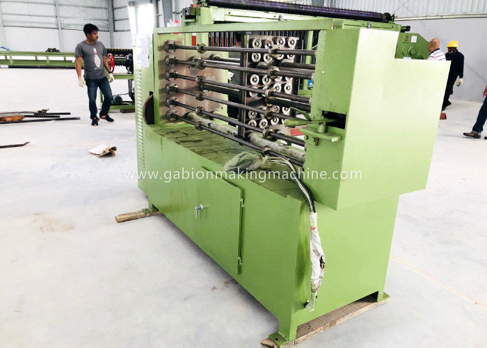 Custom Hexagonal Wire Mesh Machine , Gabion Box Machine For 1.6mm - 4.2mm Wire Dia
