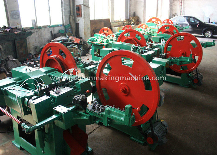 Wire Nail Manufacturing Machine / Nail Production Machine With Automatically Feed