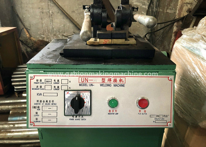 Hydraulic Butt Welding Machine / Wire Butt Welder For Gabion Mesh 500x500x1000mm