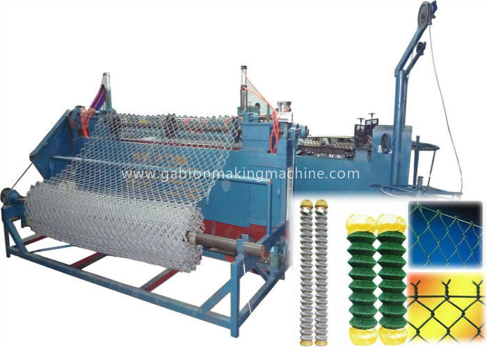 High Speed Fencing Net Making Machine 25 - 80mm Mesh Size Easy Operating